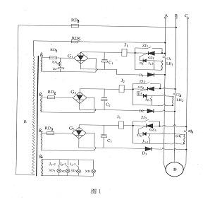 控制电路包括与壳体上的接线端子相连的控制变压器b